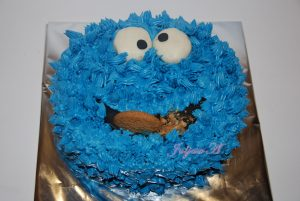 Торт Cookie monster